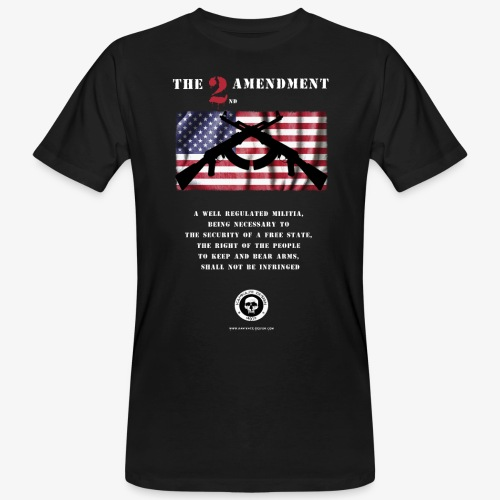 2nd Amendment - Männer Bio-T-Shirt