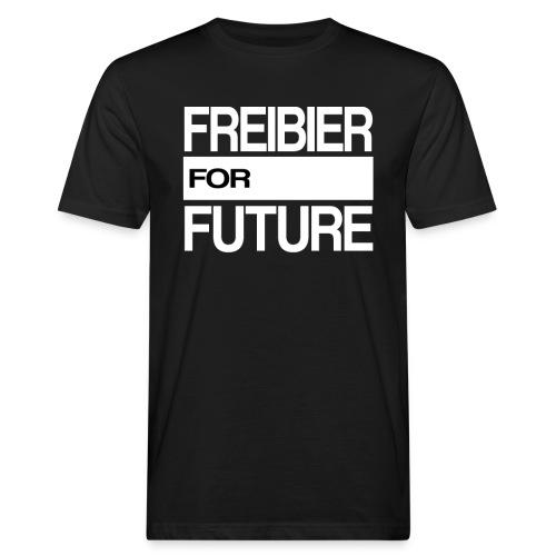 Freibier for future Fridays For Future - Männer Bio-T-Shirt
