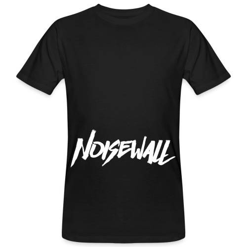 NOISEWALL WHITE LOGO - T-shirt ecologica da uomo