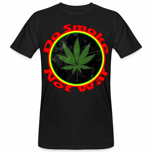 Do Smoke Not War - Männer Bio-T-Shirt