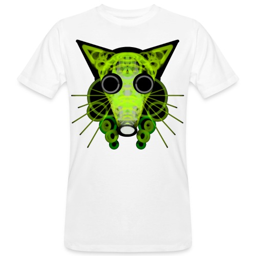 strange head of a rat in punk style - Men's Organic T-Shirt