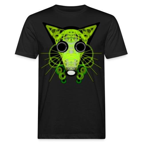 strange head of a rat in punk style - Men's Organic T-Shirt