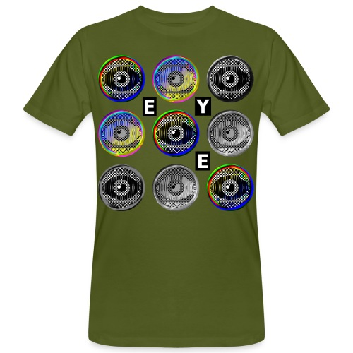 pop art eyes - Men's Organic T-Shirt