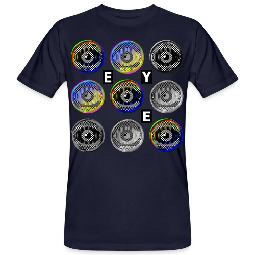 pop art eyes - Men's Organic T-Shirt