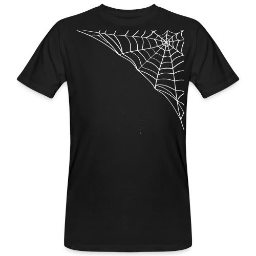 Hallowen festeggiamento ragnatela - T-shirt ecologica da uomo