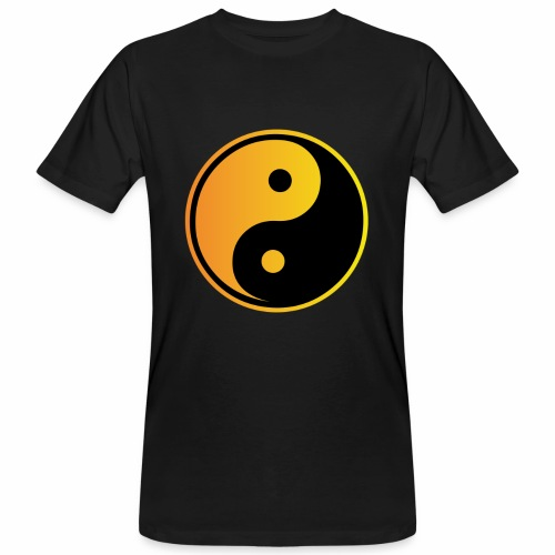 yin - yang - Männer Bio-T-Shirt