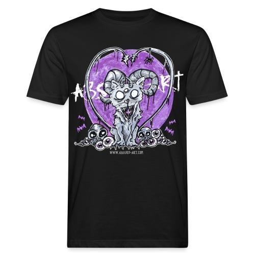 Kitty von Absurd ART - Männer Bio-T-Shirt