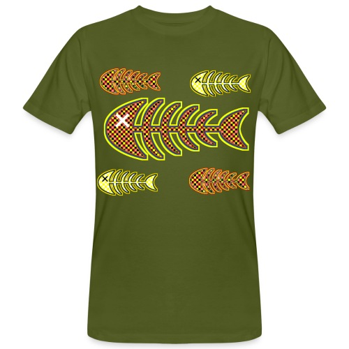 dead fishes - legs in orange and yellow - Men's Organic T-Shirt