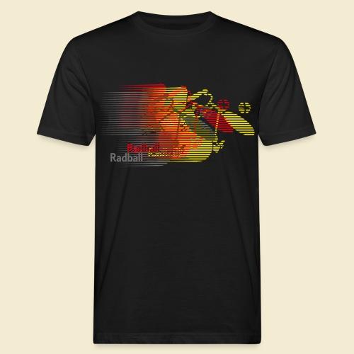 Radball | Earthquake Germany - Männer Bio-T-Shirt
