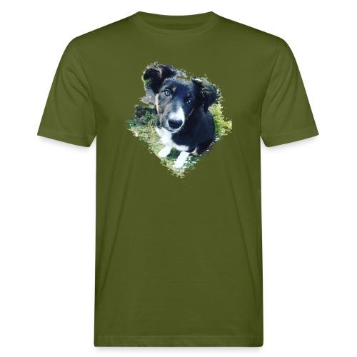 colliegermanshepherdpup - Men's Organic T-Shirt