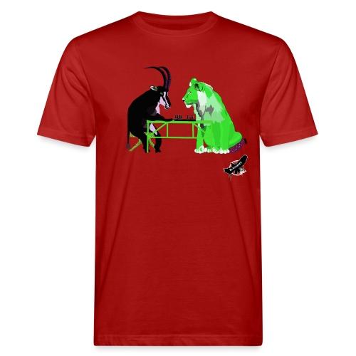 Playing Senet by BlackenedMoonArts, green w. logo - Organic mænd