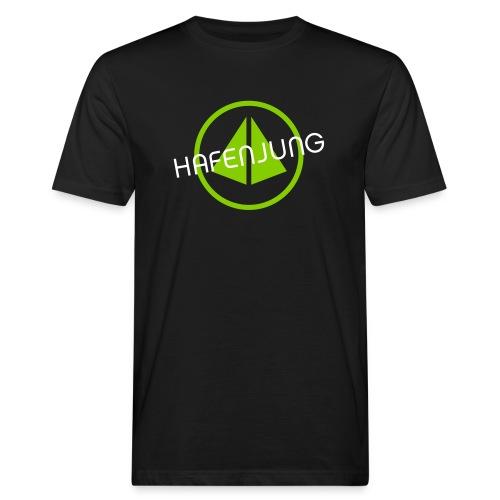Gesundheitshafen Logo - Männer Bio-T-Shirt