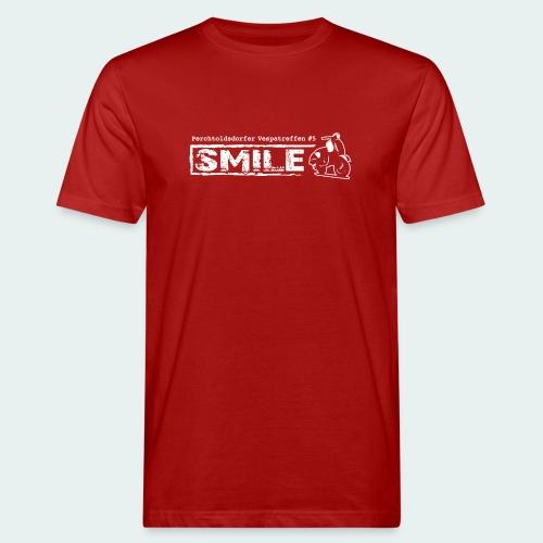 Offizielles SMILE-Shirt 2018 - Männer Bio-T-Shirt