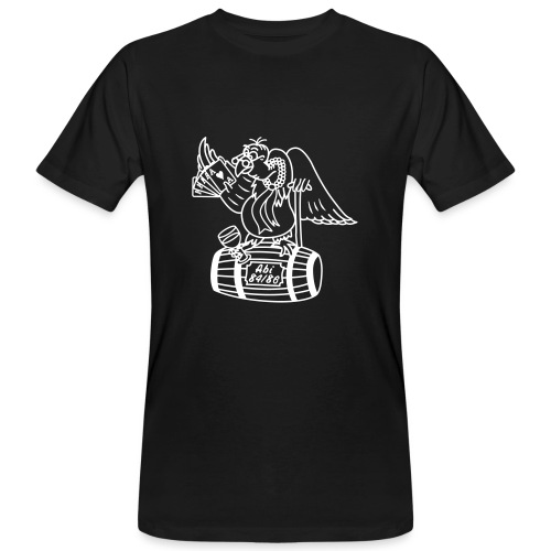 Punktegeier-1c - Männer Bio-T-Shirt