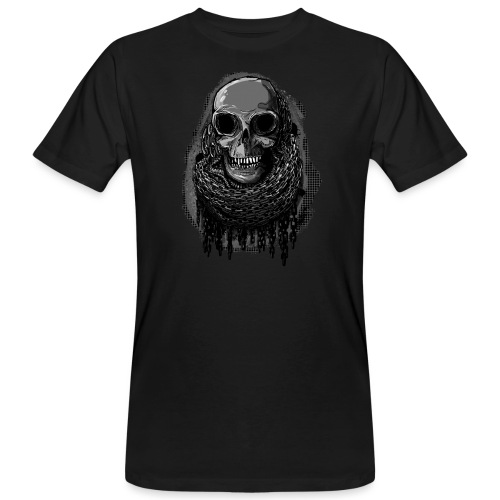 Skull in Chains - Men's Organic T-Shirt