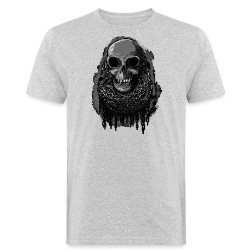 Skull in Chains - Men's Organic T-Shirt
