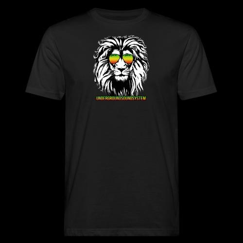 RASTA REGGAE LION - Männer Bio-T-Shirt