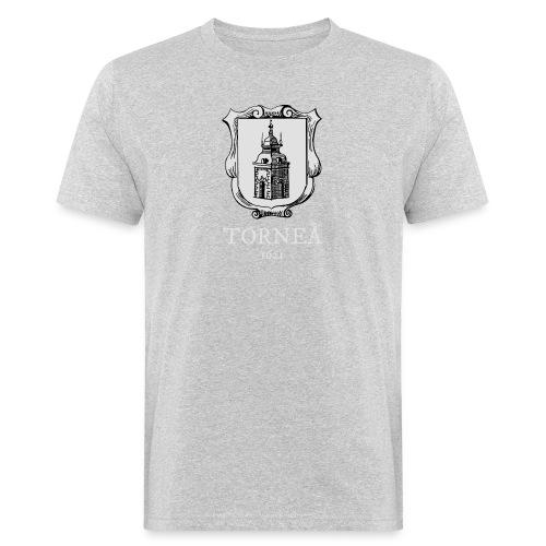 Torneå 1621 vaalea - Miesten luonnonmukainen t-paita