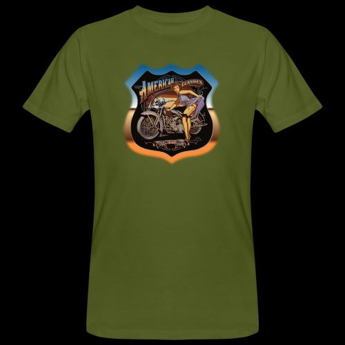 AMERICAN CLASSIC - Männer Bio-T-Shirt