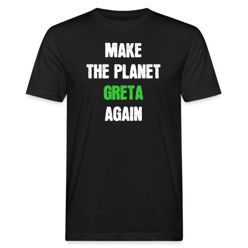 Greta Umweltschutz Welt Klimaschutz Klimawandel - Männer Bio-T-Shirt