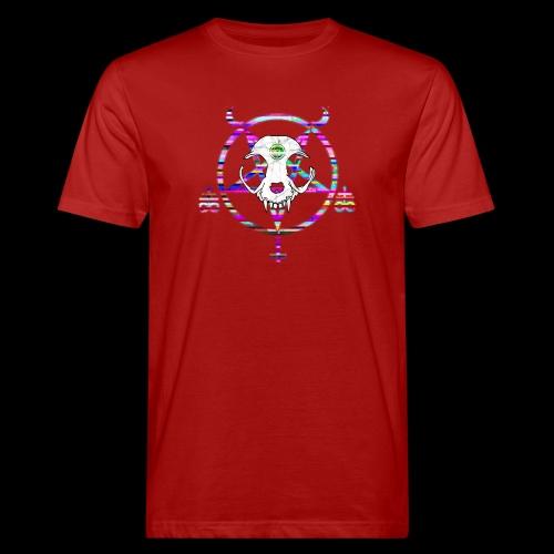 glitch cat - T-shirt bio Homme