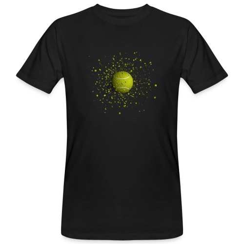 Balle de TENNIS - T-shirt bio Homme