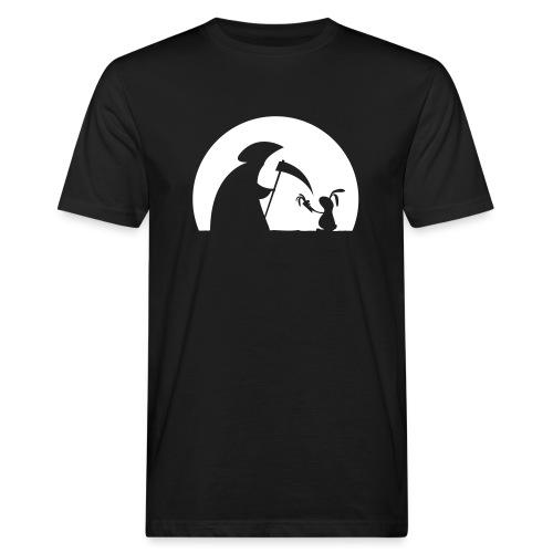 Hase Kaninchen Möhre Tod Sensenmann Karotte bunny - Männer Bio-T-Shirt
