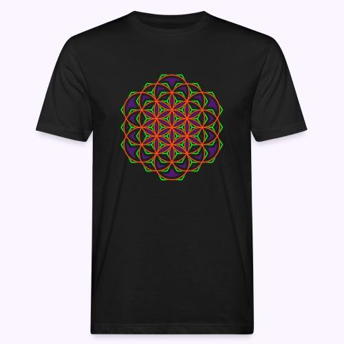 Flower of Life 2 - Camiseta ecológica hombre