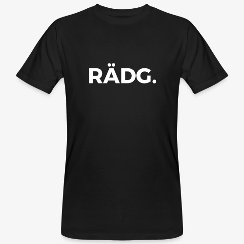 design raedg - Männer Bio-T-Shirt