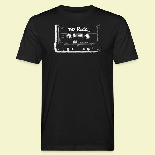 '80 Rock - White - T-shirt ecologica da uomo