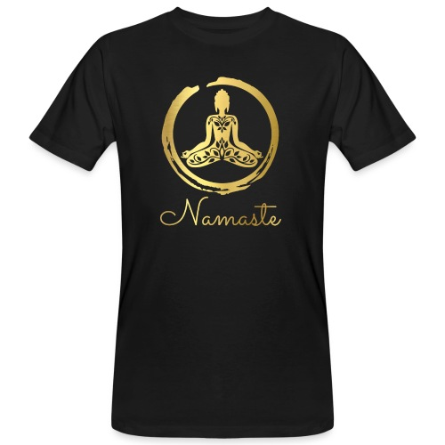 Namaste Meditation Yoga Sport Fashion - Männer Bio-T-Shirt