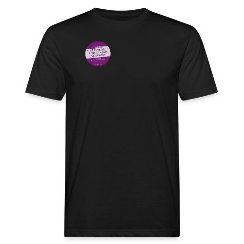 #naunddasbuch Stream - Männer Bio-T-Shirt