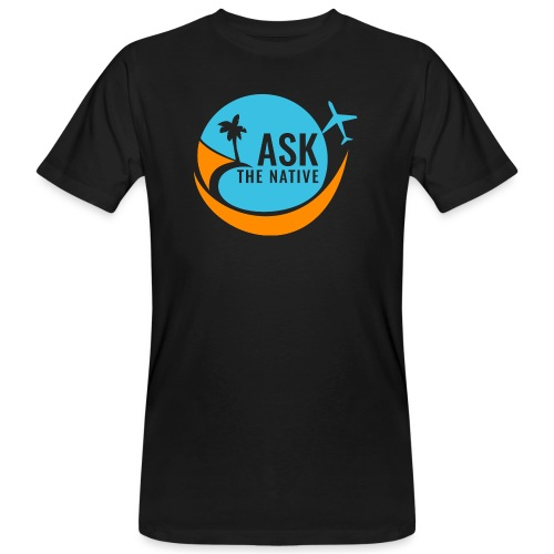 Ask the Native Original Logo - Mannen Bio-T-shirt