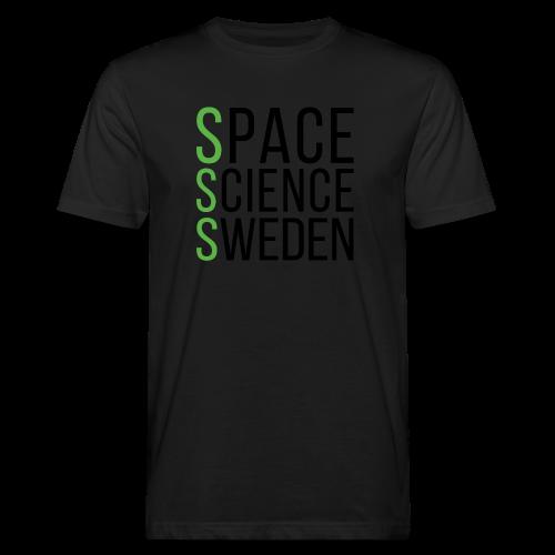 Space Science Sweden - svart - Ekologisk T-shirt herr