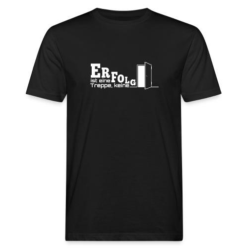 ERFOLGSTREPPE - Männer Bio-T-Shirt