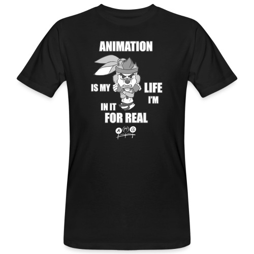 AMB Animation - In It For REAL - Men's Organic T-Shirt