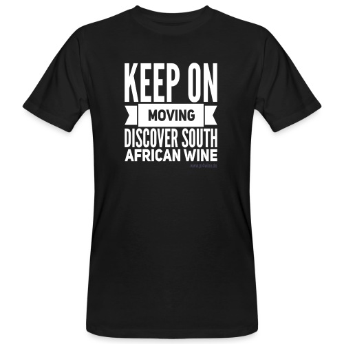 Keep on moving - Männer Bio-T-Shirt