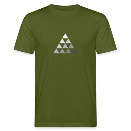 TRIANGLE FADE 2 - T-shirt ecologica da uomo