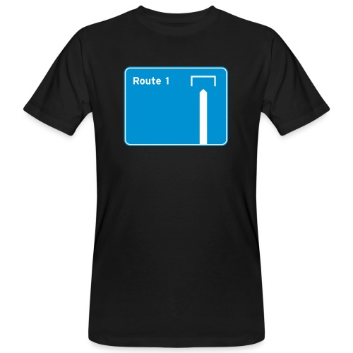 Route 1 - Men's Organic T-Shirt