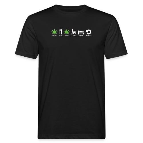 WEED - T-shirt ecologica da uomo