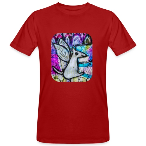 blissful doggie adjusted - Men's Organic T-Shirt