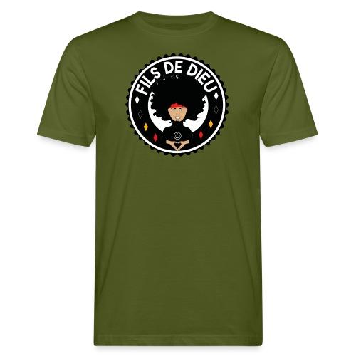 filsdeDieunoir - T-shirt bio Homme