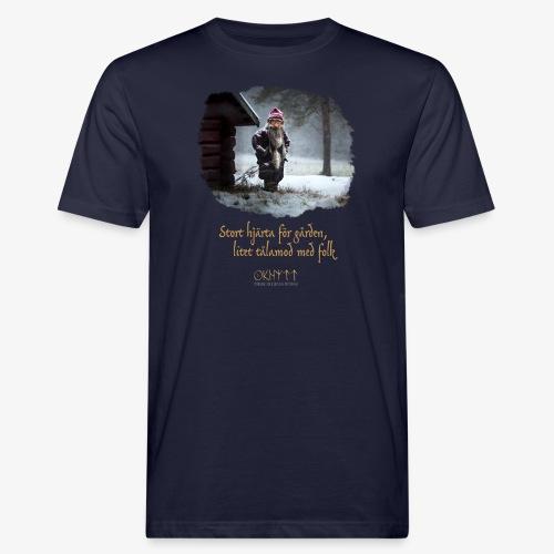 Gårdstomte - Ekologisk T-shirt herr