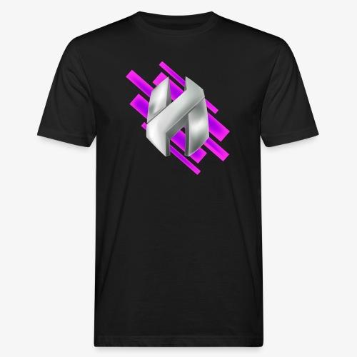 Abstract Purple - Men's Organic T-Shirt