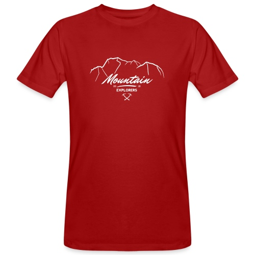 MOUNTAIN EXPLORERS - T-shirt ecologica da uomo