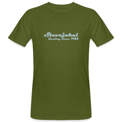 Stevejakal Merchandise - Männer Bio-T-Shirt