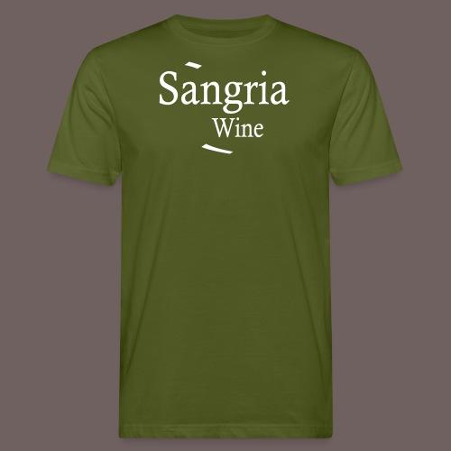 GBIGBO zjebeezjeboo - Fleur- Vin de Sangria [Flex] - T-shirt bio Homme