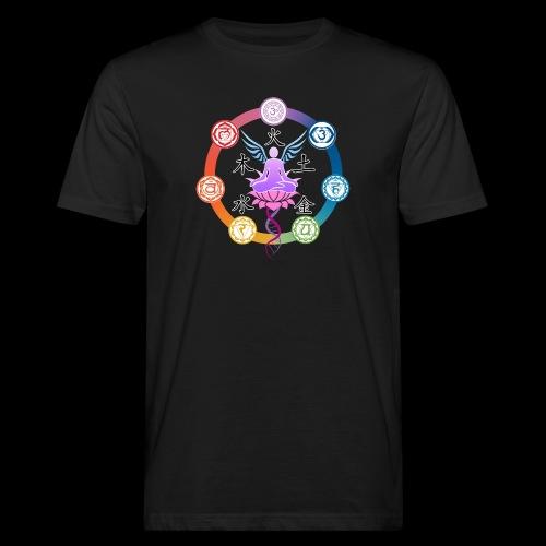 armonia delle energie all colors - T-shirt ecologica da uomo