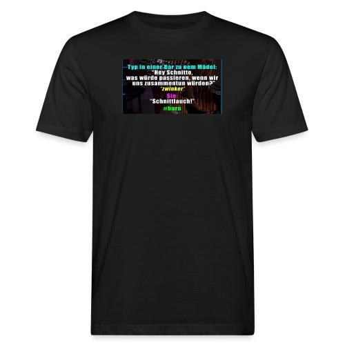 SchnitLauch - Männer Bio-T-Shirt
