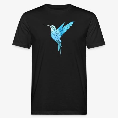 Kolibri Geometrisch - Männer Bio-T-Shirt
